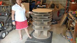 lazy susan home decor spinning shoe rack youtube