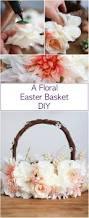 a floral easter basket easter baskets