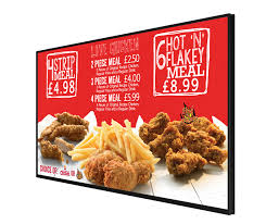 digital menu board 43