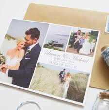 wedding postcards personalised wedding thank you postcards by invites