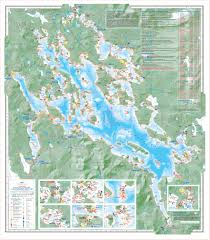 Navigation Map Duncan Press Lake Navigation Charts