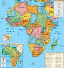 africa map countries and capitals world map with countries and capitals
