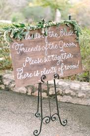 wedding seating signs 30 wedding ceremony signs