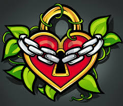 how to draw a heart lock heart lock tattoo step by step drawing