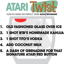atari twist how to make the perfect atari themed beverage