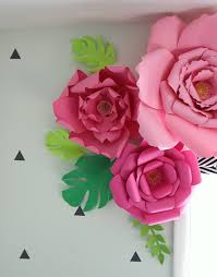 printable large flowers how to make paper flowers thecraftpatchblog com