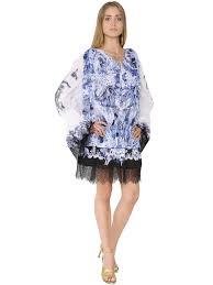 just cavalli perfume roberto cavalli printed u0026 embroidered cotton