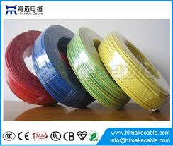 single core insulated and sheathed electrical wire cable 300 500v