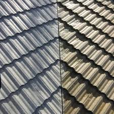 Metal Tile Roof The Moss Busters Everett Washington