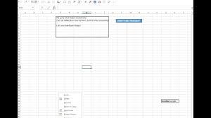macro delete hidden worksheet youtube