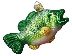 and fishing world glass ornaments