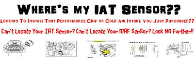 iat sensor performance chip installation procedure 2001 2012