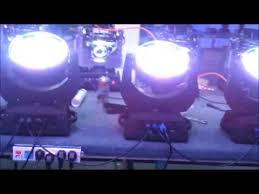 108 3w rgbw led moving wash led moving wash stage lights