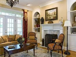 Paint Colors For Living Room Walls With Brown Furniture Traditional Living Room White Wall Paint Color Glass Hung Windows