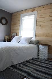 diy panel headboard diy shiplap paneling as a custom bedroom headboard merrypad