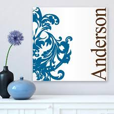 Personalized Wall Decor Monogram Wall Art Home Decor Be Monogrammed