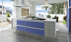 Mini Kitchen Design Cool Ikea Small Modern Kitchen Design Ideas With Blue Cabinet And