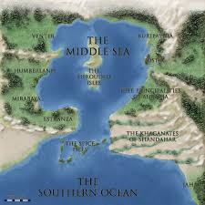 Southern Ocean Map The Middle Sea World Duncan M Hamilton