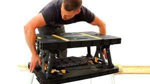 stanley folding work table keter do it myself show folding work table youtube