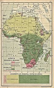 Map Of Southern Africa by