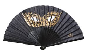 wooden fans duvelleroy mask fan the fan museum