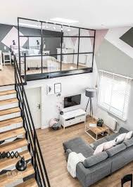 Small Homes That Use Lofts To Gain More Floor Space Living Room - Modern interior design for small homes