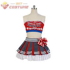 Cheerleader Halloween Costumes Adults Aliexpress Buy Love Live Original Cheerleader Maki