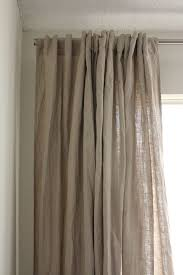 French Pleat Curtain French Pleat Thread Of Scarlet Linens Unique Linen Curtains