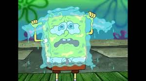 spongebob tear sweater spongebob sweater of tears