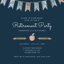 retirement invitations retirement function invitation retirement party invitation