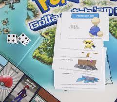 Monopoly Map Monopoly Pokemon Johto Edition Incoming Nintendo Everything