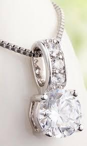 elegant pendant necklace images White gold elegant diamond pendant necklace luxeportal jpg