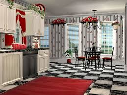 Cherry Kitchen Curtains by Mod The Sims Mcalli U0027s Very Cherry Kitchen
