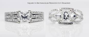Diamond Depth And Table Princess Cut Diamonds Assessment Chart Guide In Depth Information
