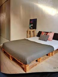 size pallet bed frame