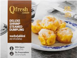 deluxe cuisine ขนมจ บก งด ล กซ 6 ช น แพ ค deluxe shrimp steamed dumpling