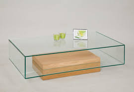 glass for coffee table coffee table with oak base from tannahill furniture ltd