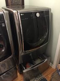 Pedestal Washing Machine An Honest Review The Lg Twin Wash And Sidekick Pedestal