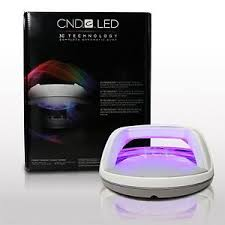 Cnd Shellac Professional Led Light L 3c Technology Cures Gel