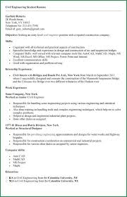 Engineering Student Resume Sample by 11 Engineering Student Resumes Applicationsformat Info