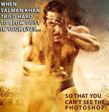 Make A Meme Poster - lol story of the day these 9 jokes on the first poster of salman