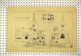 Church Floor Plans by 7 Print 1892 Elevation Mountain Church Floor Plan Morris 174b304