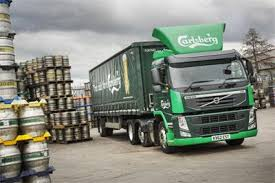 volvo commercial vehicles carlsberg uk opts for volvo trucks double take commercial motor
