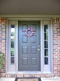 front doors new color for my front door sherwin william bay red