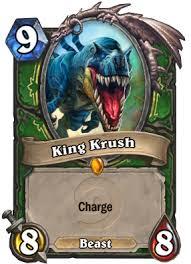 king krush hearthstone cards