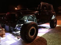 jeep wrangler rock lights rgb rock lights nox lux