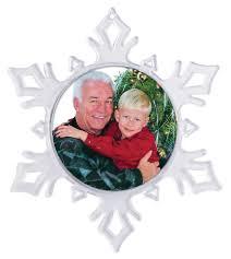 item 987 2 1 4 dia clear snowflake ornament