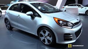 hatchback cars kia 2016 kia rio sx exterior and interior walkaround 2016 detroit