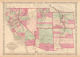 Map Of Nevada And Utah by A Cartographic Journey Through Las Vegas History Part 1 Waml