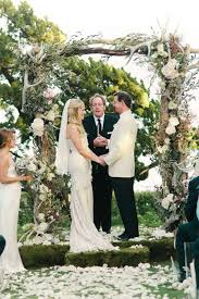 wedding arbor used 280 best ceremony flowers images on decor wedding